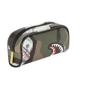 Money camouflaged pencil makeup case Limited Ed.